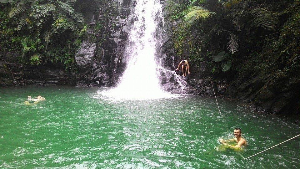 Liangshan Waterfalls in Pingtung