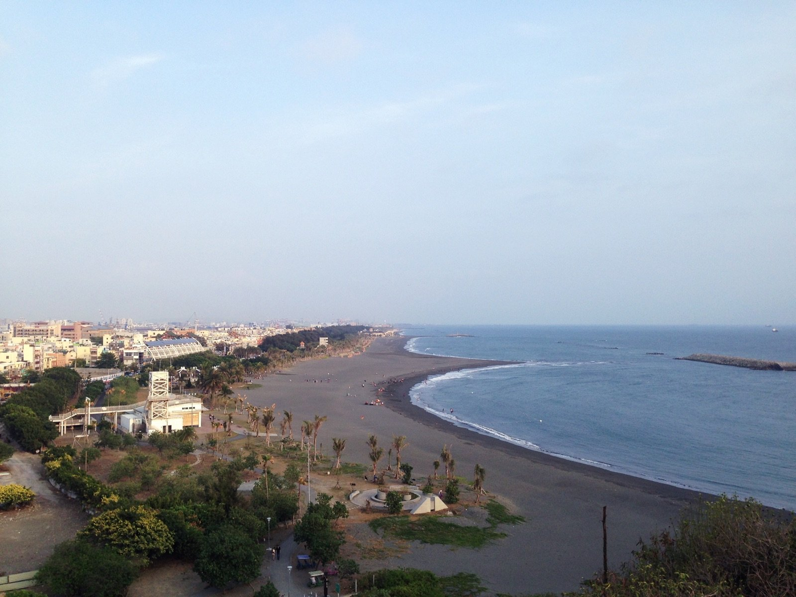 Cijin Beach from the Lighthouse